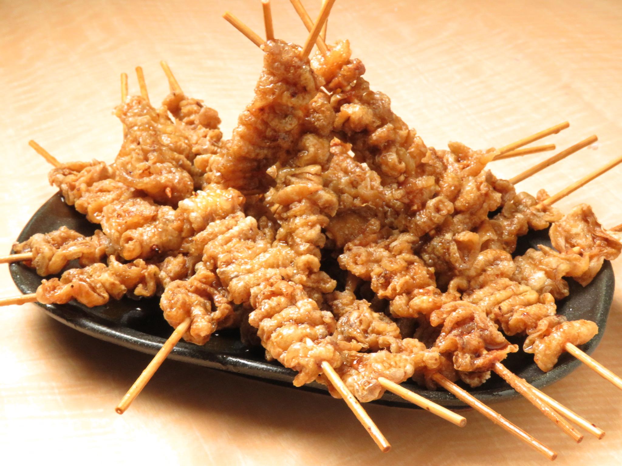 【餃子のとりいちず酒場 柏西口店】の鶏料理